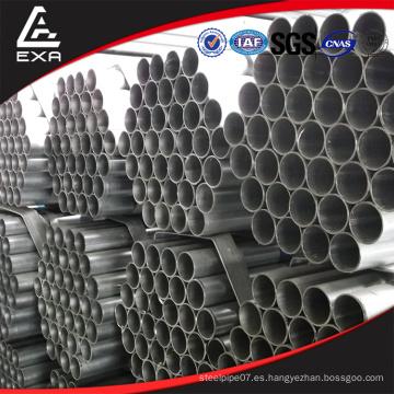Fábrica de ventas directas imc galvanizado tubo de acero redondo