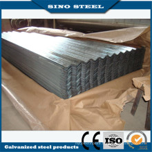 Z80 0.17mm Thickness Zinc Coated Gi Roofing Metal Sheet