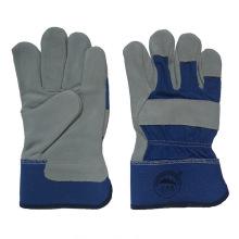 Kuh Split Leder Workding Handschuhe für Bergleute