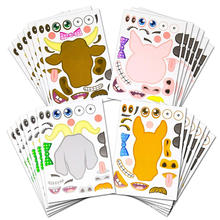 Custom Printed Diy Creative Removable Sticker Sheets For Kids