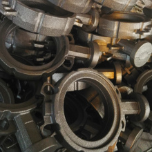 Cast Iron Butterfly Valve Body