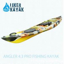 Функциональное сиденье Fisher и каяковая тележка для 4,3-метрового рыболоса 4.3 Модель каяка для рыбалки