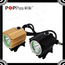 Preto / Vermelho / Cor Dourada Xm-L T6 8600lumens 4X18650 4.2V Luz de bicicleta recarregável Yzl-864