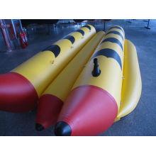 Barco de Banana inflável 6 pessoa 2 tubos