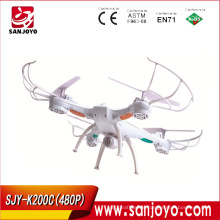 480P Camera UFO 2.4G Gyro Quadcopter China Flying Toys RC Drone With Camera PK K200 K300c SJY-K200C