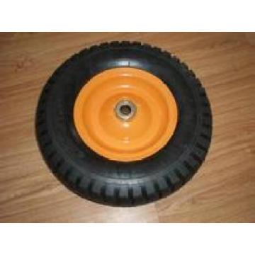Roue solide de mousse d'unité centrale, pneu de brouette 3.00-8 13x3