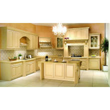 New Design Fsc Kitchen Cabinets Solid Wood