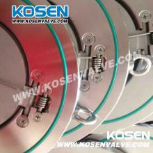 Válvula de retención tipo wafer de placa única de tipo delgado