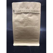Kraftpapier Square Bottom Box Beutel