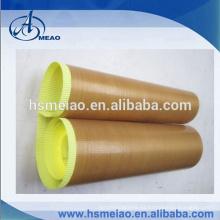 Marrón de alta temperatura PTFE recubierto cinta de tela