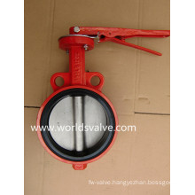 Soft Seated Wafer Type Butterfly Valve
