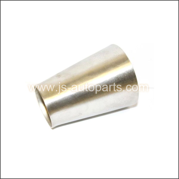 STAINLESS EXHAUST PIPE CONE 3 - 2 REDUCER JOINER TUBE CONNECTOR BIKE ADAPTER