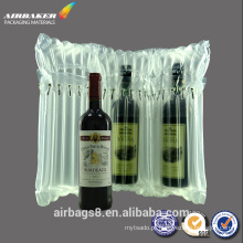 Alta qualidade best-seller coluna de ar inflável promocional de endereçamento saco para vinho tinto