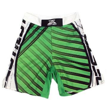 Top Grado personalizado MMA Boxer Shorts en blanco