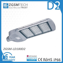 Glass Cover 180W LED Street Light with Ce RoHS