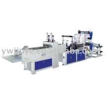 Automatic Two Layers & Four Lines Plastic Bag Making Machine
