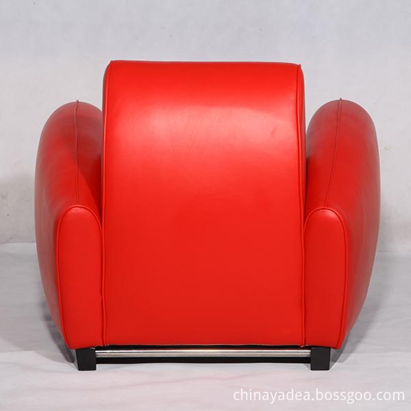 Leather Franz Romero Bugatti Armchairs Replica