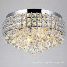 Chrome Crystal Flush Mount Chandelier Ceiling Light -51118