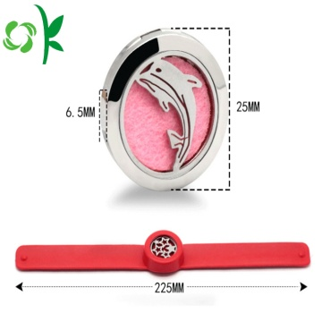 Promotion Scented Watch Strip Silicone Slap Armband