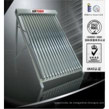 Split Solar Collector mit Solar Keymark