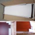Интерьер гостиной из шпона твердые деревянные двери (СК-W115)