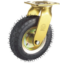 Rodízio de borracha pneumático resistente (yd4406)