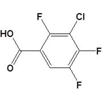 3-Chloro-2, 4, 5-Trifluorobenzoïque Acidcas No. 101513-77-3