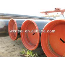 api 5l x52 / x42 / gr.b fabricante de tubo de aço carbono de 8 polegadas