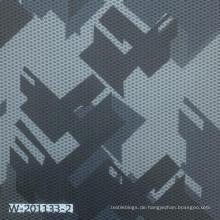Benutzerdefinierter geometrisch bedruckter Stoff aus 100% Polyester
