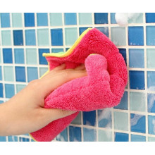 400gsm Edgeless 80/20 Coral Fleece Microfiber Towels