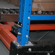 Certificado CE de armazenamento automático de equipamentos de armazenamento / rack de energia elétrica móvel