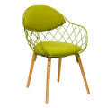 Magis Pina Chair with Fabric Cushion