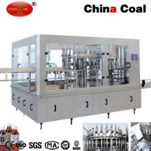 Machine de remplissage automatique de boissons gazeuses 3-en-1