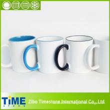 Steinzeug-Keramik-Becher für Foto-Druck Sublimation (15032302)