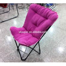 Novo design dobrável cadeira de borboleta preguiçosa cadeira de sala de estar