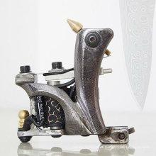 2012 Damasco máquinas de tatuagem de aço RT-DM010