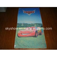 Suave microfibra toalla impresa (SST0273)