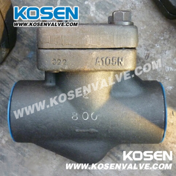 Forged Steel Piston Check Valve 800lb A105n