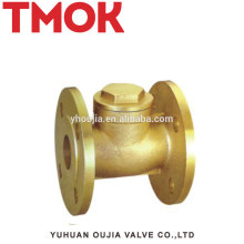 Top Brass Flange Check Valve