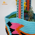 Colorful Small Handmade Crochet Shoulder Bag