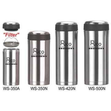 Taza de vacío del acero inoxidable (WS-350N/WS-350A, WS-420N/WS-420A, WS-500N)