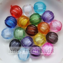 Clear crystal wholesale round acrylic inside beads