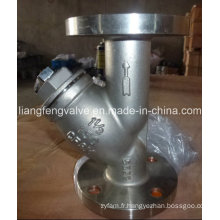 Y-Strainer of Stainless Steel Flange End ANSI