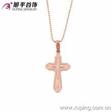 Pendente antigo novo da cruz do ouro de Xuping