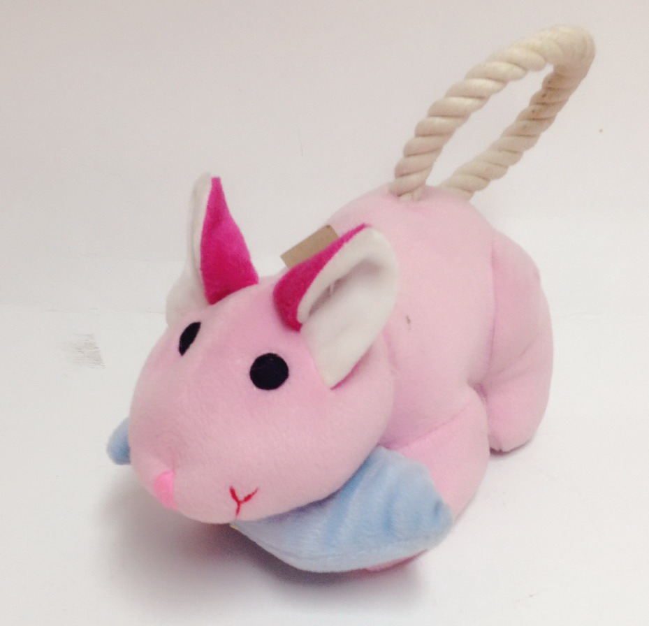 Yarn rope toy rabbit