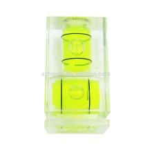 Two Spirit Level Green Mini Bubble Hot shoe for Camera Accessories Two level Spirit Level Green Mini Bubble Level Hot shoe Level for Camera Accessories