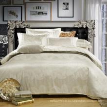100% algodón jacquard hotel juegos de cama
