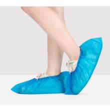 A sapata de pé impermeável por atacado cobre tampas não tecidas descartáveis da bota do deslizamento da tela não tecida