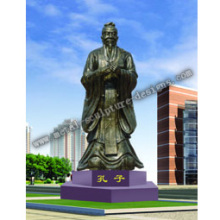 The statue of Confucius