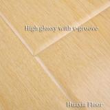 HDf High glossy laminated floor 12mm